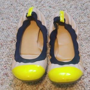 J. Crew Mila cap toe flats